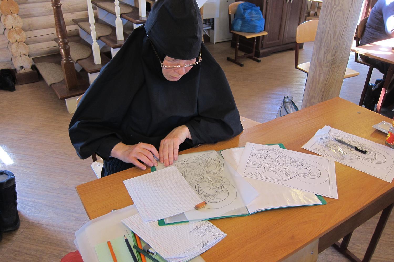 Обучение церковной вышивки